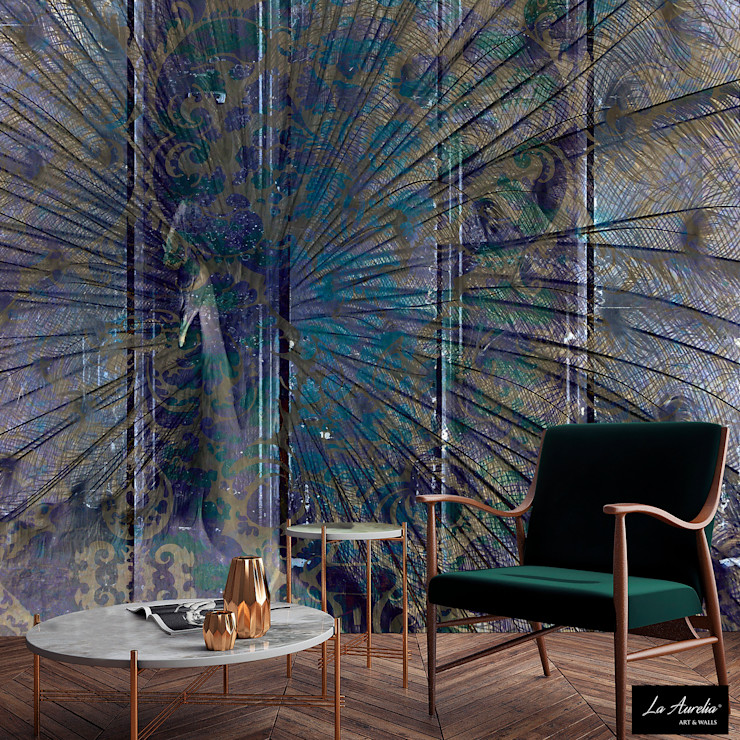 Elegance -Variation- Wallpaper La Aurelia Walls & flooringWallpaper Purple/Violet