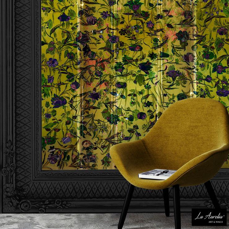 Oasis -Framed- Wallpaper La Aurelia Walls & flooringWallpaper Yellow
