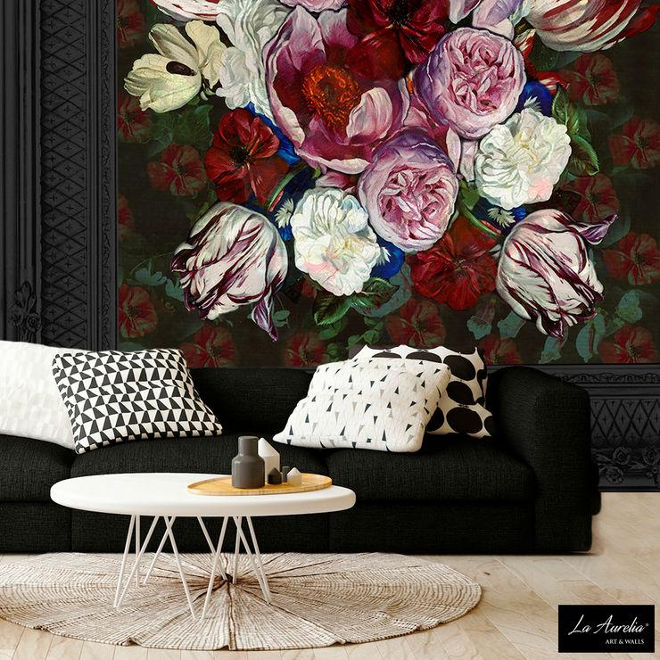 True Colors -Variation Framed- Wallpaper La Aurelia Walls & flooringWallpaper Multicolored