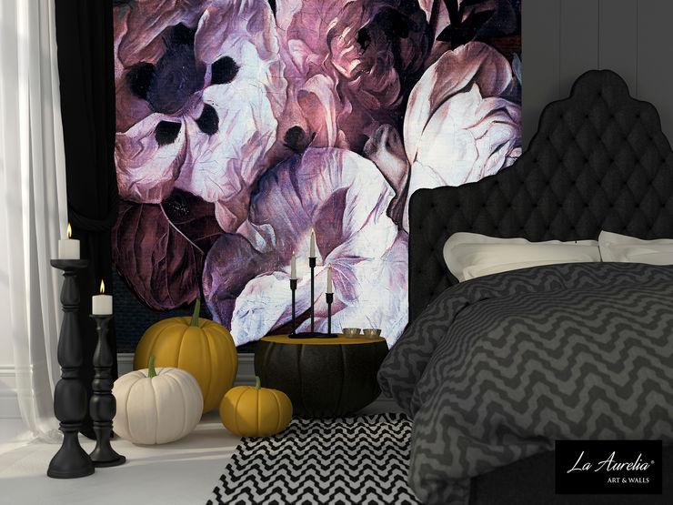 Fleur -Variation- Wallpaper La Aurelia Walls & flooringWallpaper Purple/Violet