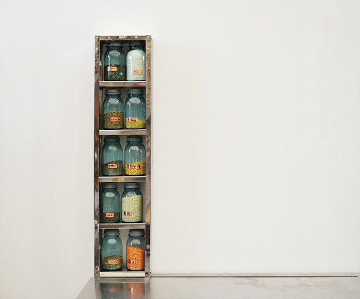 Tall Skinny Shelf The Plate Rack KitchenStorage