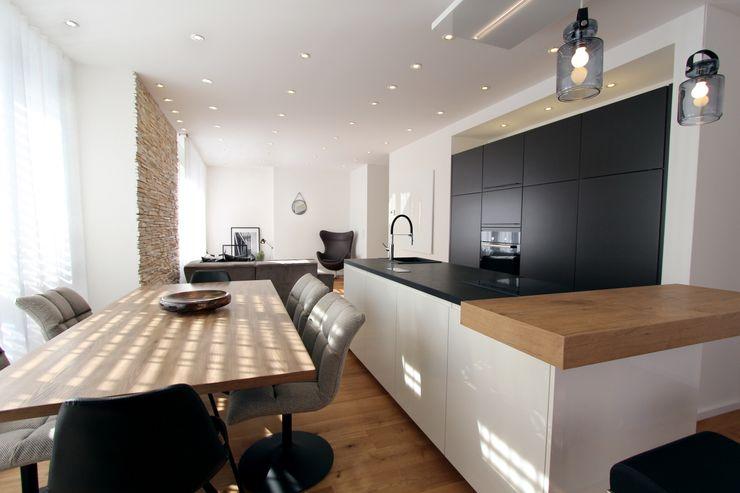 Designer Küche StageBella Moderne Küchen Grau