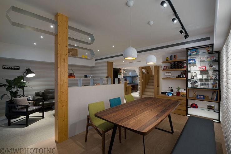 皞・巢居 藻雅室內設計 餐廳