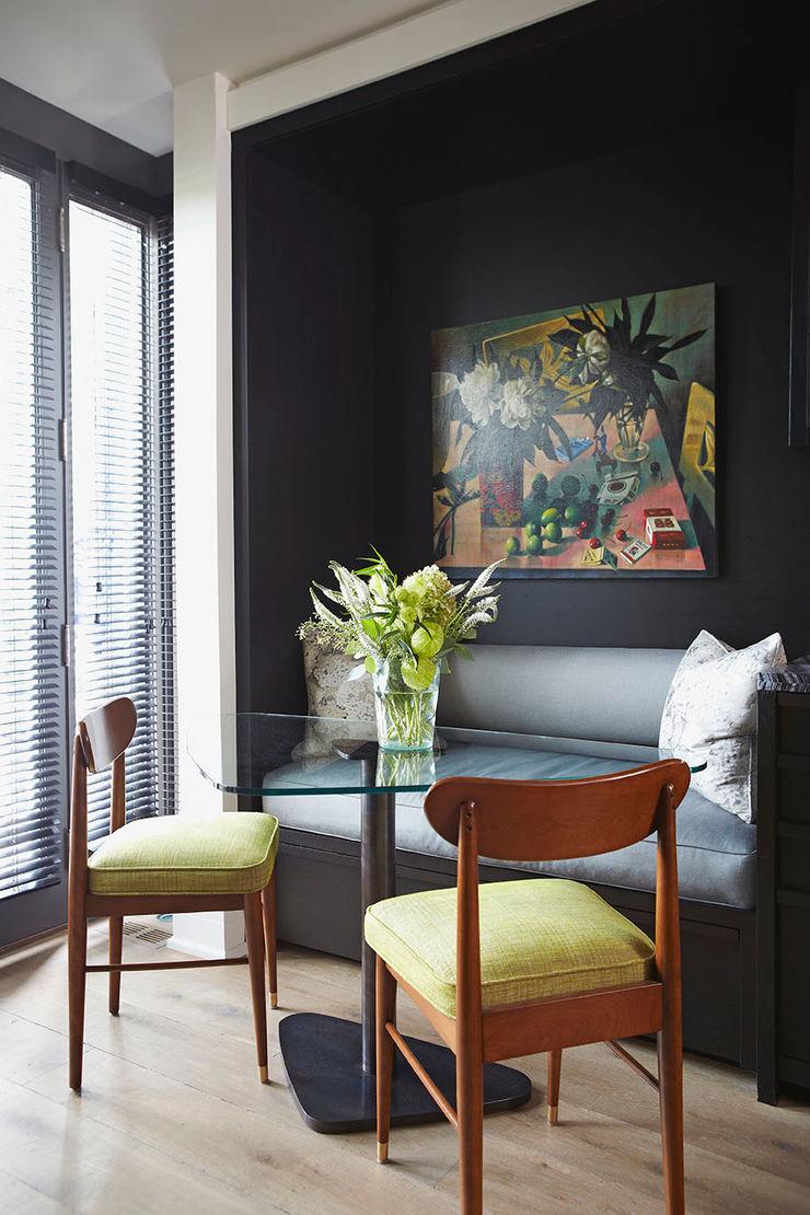 Breakfast Area Douglas Design Studio Kitchen Black