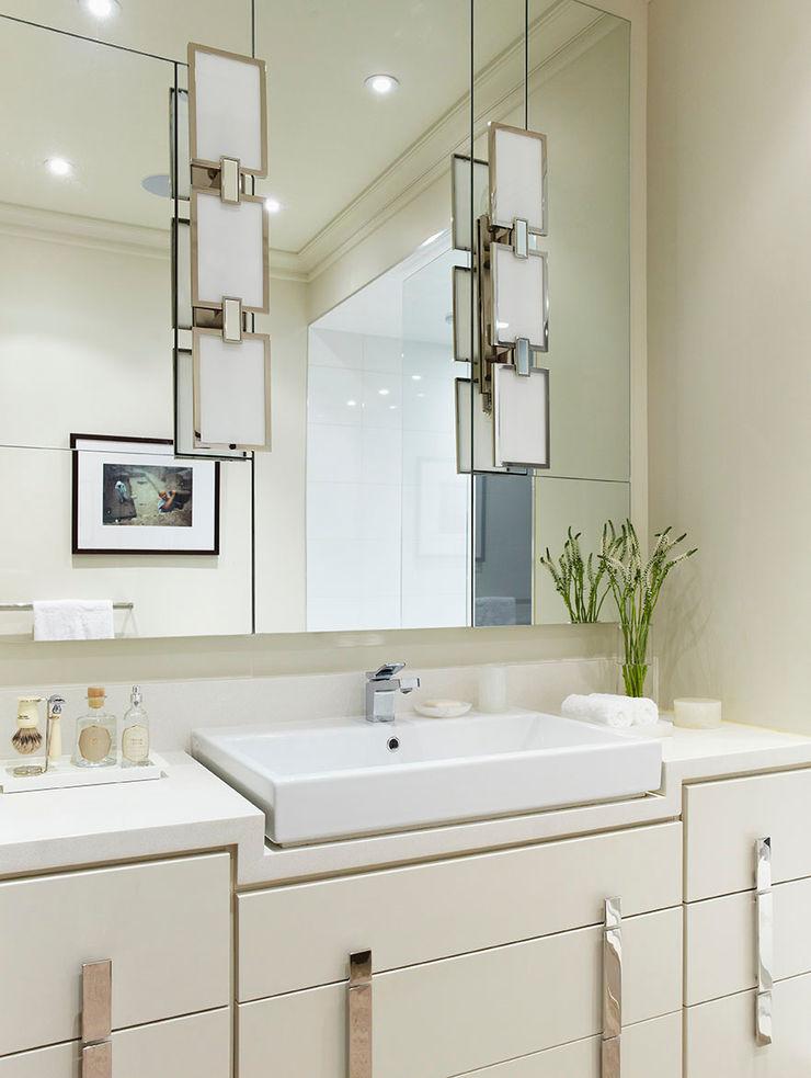 Bathroom Vanity Douglas Design Studio Classic style bathroom White