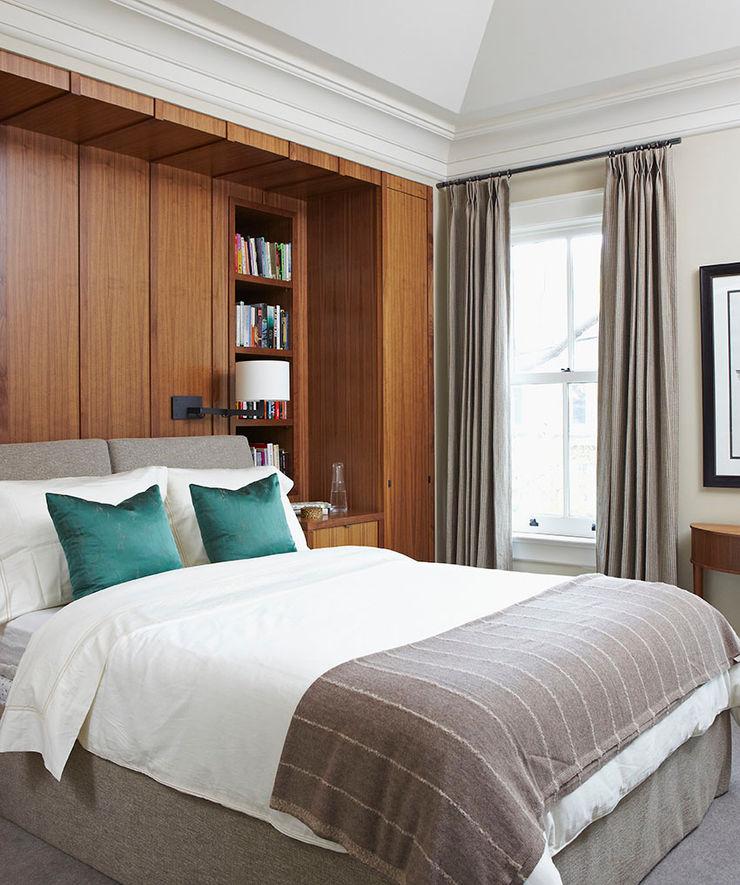 Master Bedroom Douglas Design Studio Classic style bedroom Grey