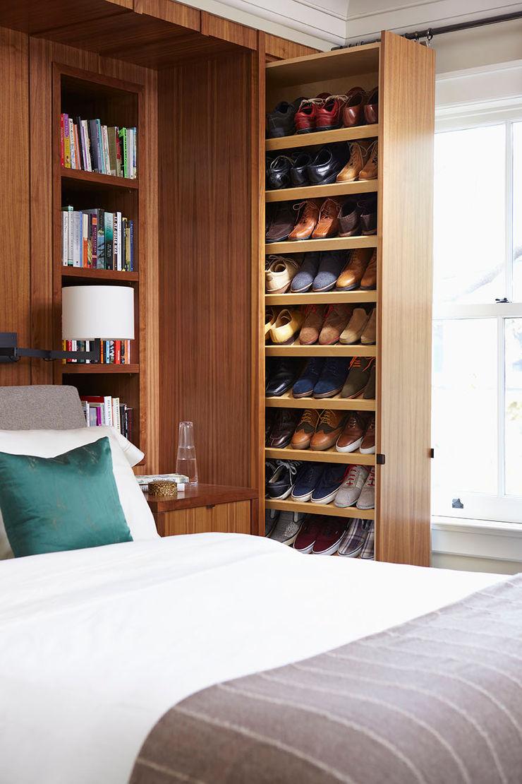 Shoe Storage Douglas Design Studio Classic style bedroom Brown