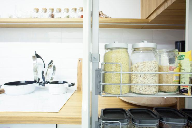 Mieszkanie na miarę Patyna Projekt Skandynawska kuchnia