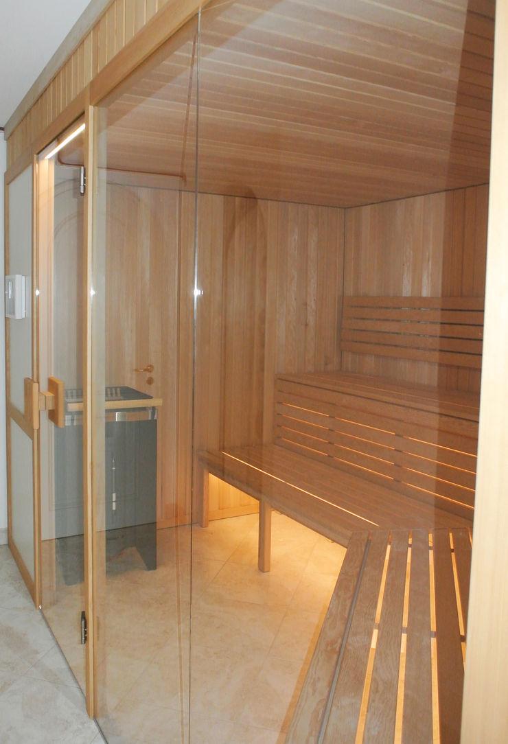 Sauna Planungsbüro für Innenarchitektur Moderner Spa