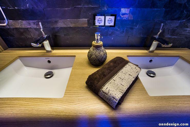 Onn Design Salle de bainRobinets Bois Effet bois
