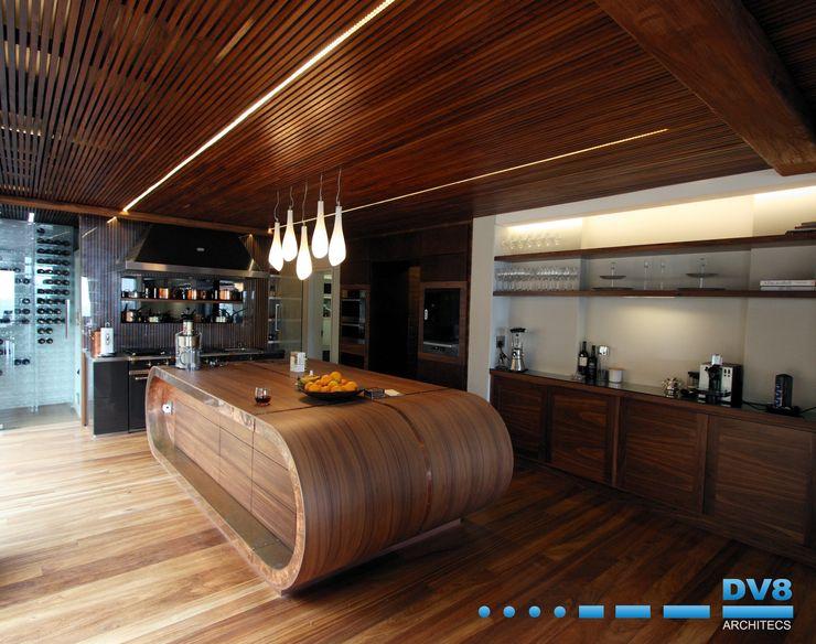 DV8 Architects Cocinas de estilo moderno