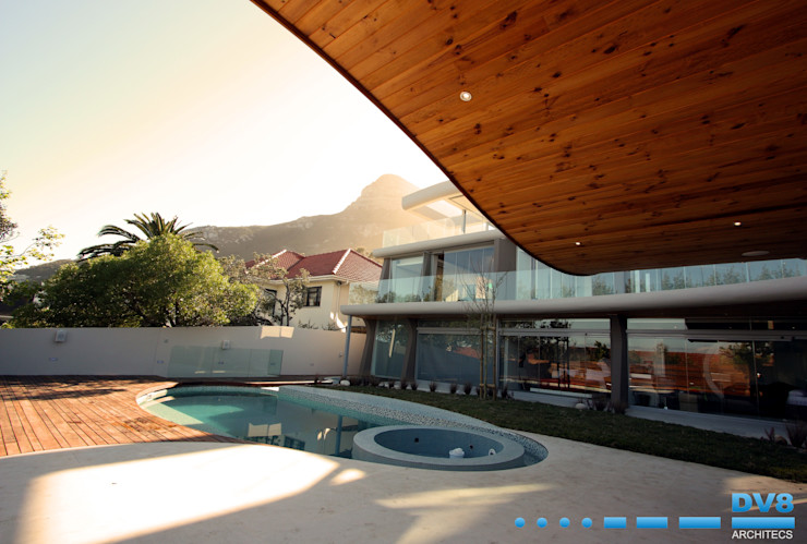 DV8 Architects Kolam Renang Modern
