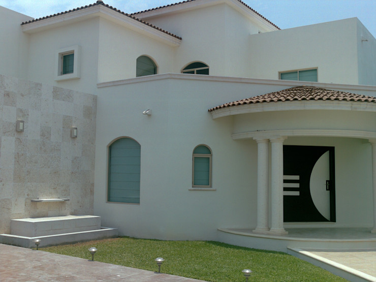 CASA Beige SG Huerta Arquitecto Cancun Casas unifamiliares Caliza Beige