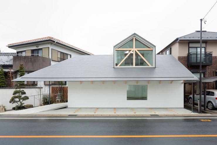 富永大毅建築都市計画事務所 บ้านและที่อยู่อาศัย White
