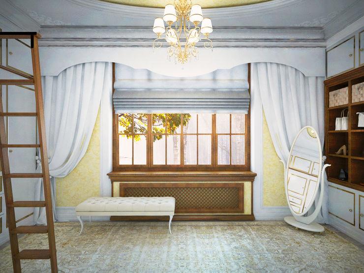 Бюро актуальных интерьеров Анны Шаркуновой غرفة الملابس