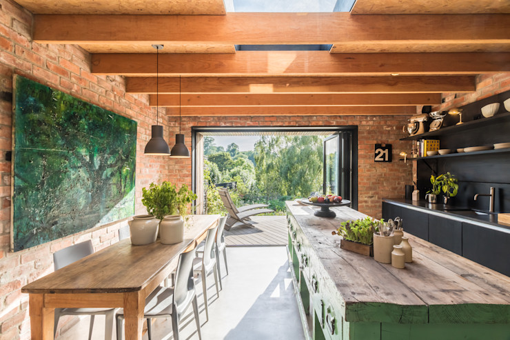 Miner's Cottage II design storey Kitchen