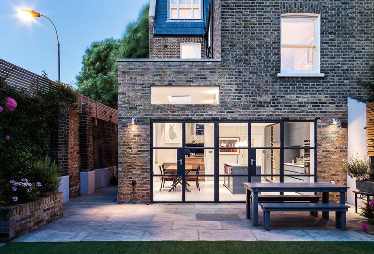 Slot House, London W12 AU Architects Casas de estilo moderno