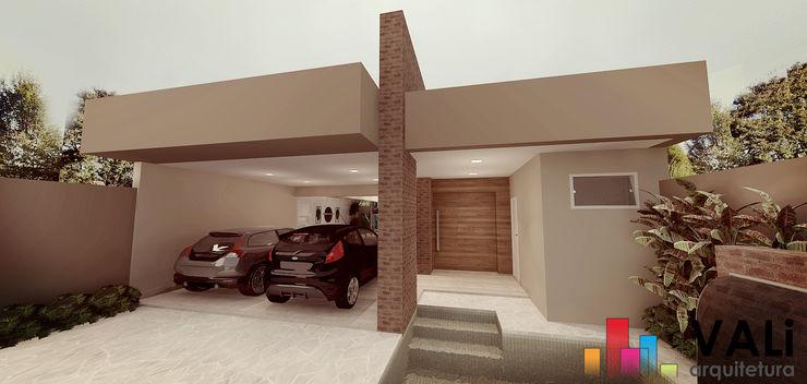 Renan Carvalho Arquitetura e Interiores Modern houses Bricks Beige