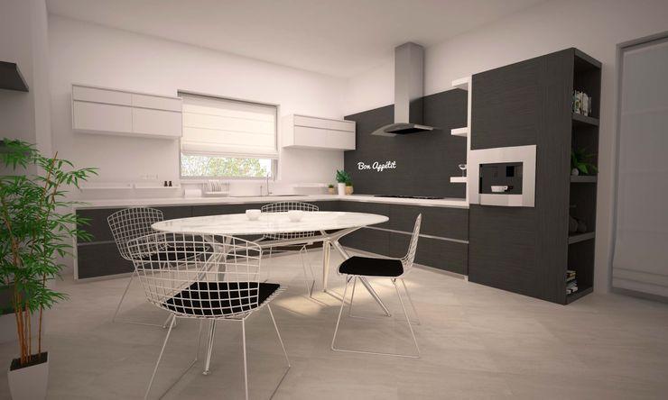 LITTLE KITCHEN LAB16 architettura&design Cucina minimalista