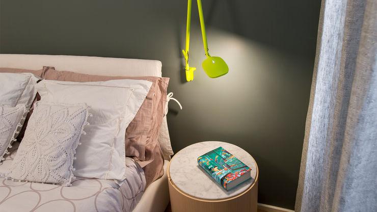 camera Martrimoniale Archifacturing Camera da letto moderna Giallo