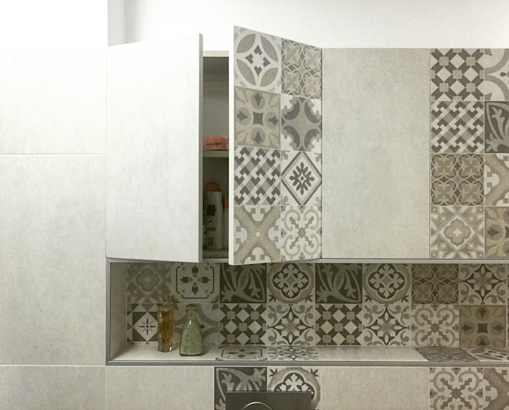 Alessandro D'Amico Eclectic style bathroom