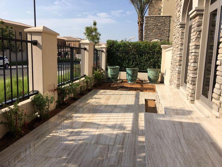 homify Mediterranean style garden Marble Brown