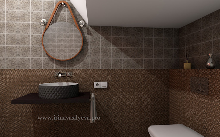 Irina Vasilyeva Eclectic style bathroom