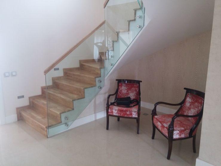 sezgin inşaat-mobilya Corridor, hallway & stairs Stairs