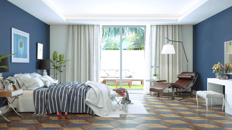 m.frahat Dormitorios minimalistas