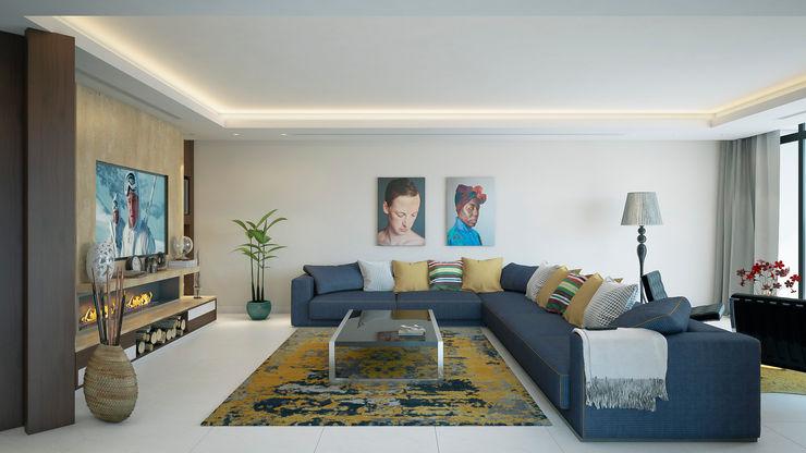m.frahat Salones minimalistas