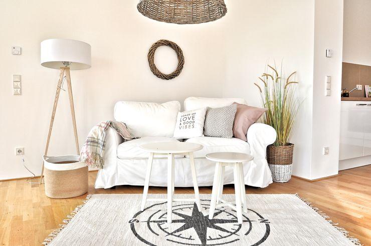 Nachher Wohnzimmer Karin Armbrust - Home Staging