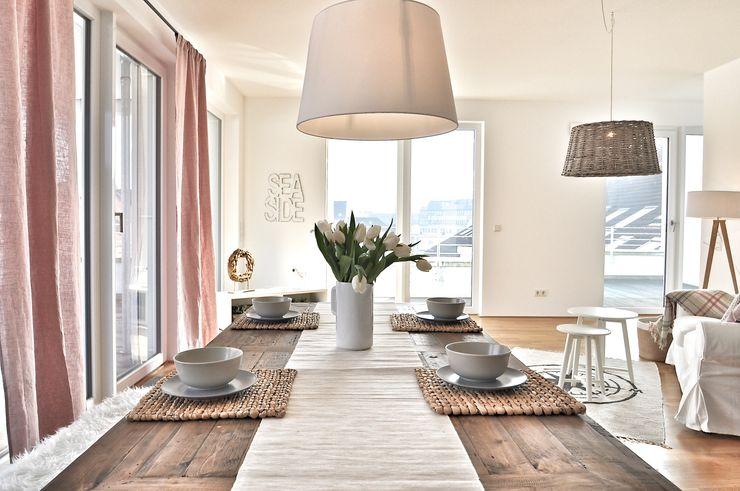 Nachher Wohn-Essbereich Karin Armbrust - Home Staging
