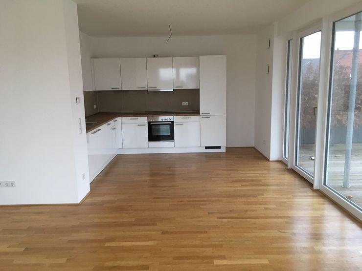 Vorher Wohn-Essbereich Karin Armbrust - Home Staging