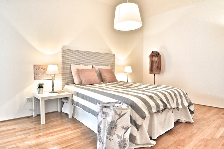 Nachher Schlafzimmer Karin Armbrust - Home Staging