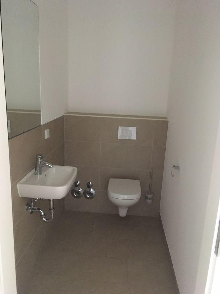 Vorher Gäste-WC Karin Armbrust - Home Staging