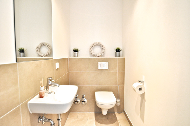 Nachher Gäste-WC Karin Armbrust - Home Staging