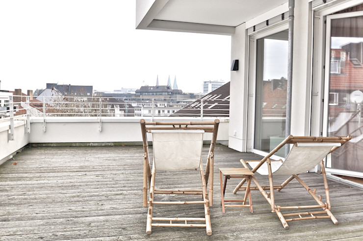 Nachher Terrasse Karin Armbrust - Home Staging