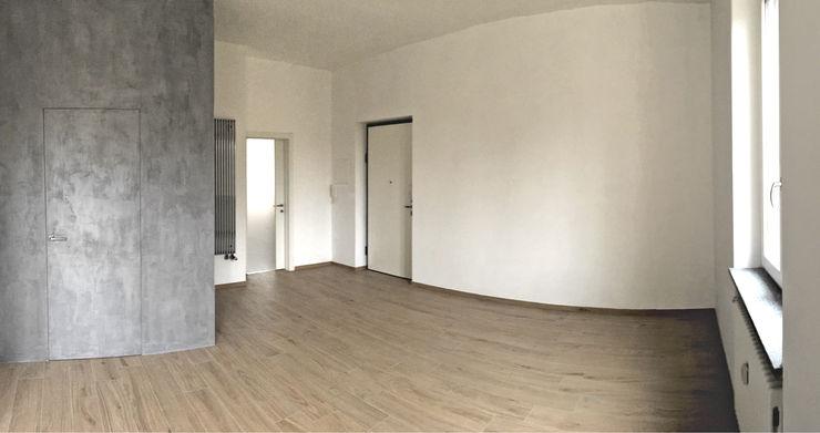 Aulaquattro Pasillos, vestíbulos y escaleras modernos Blanco