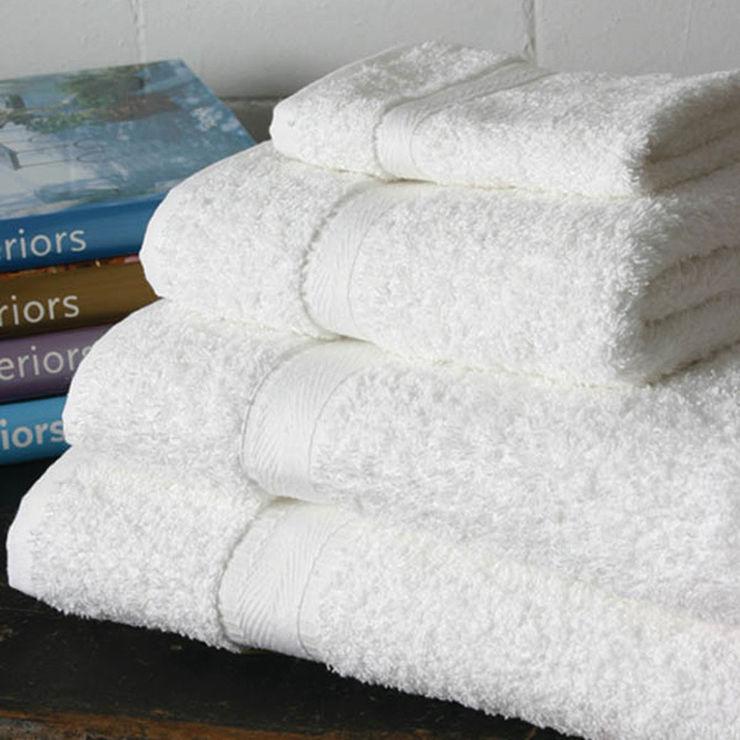 Hotel Premium Quality 600gsm Towels King of Cotton BathroomTextiles & accessories Cotton White