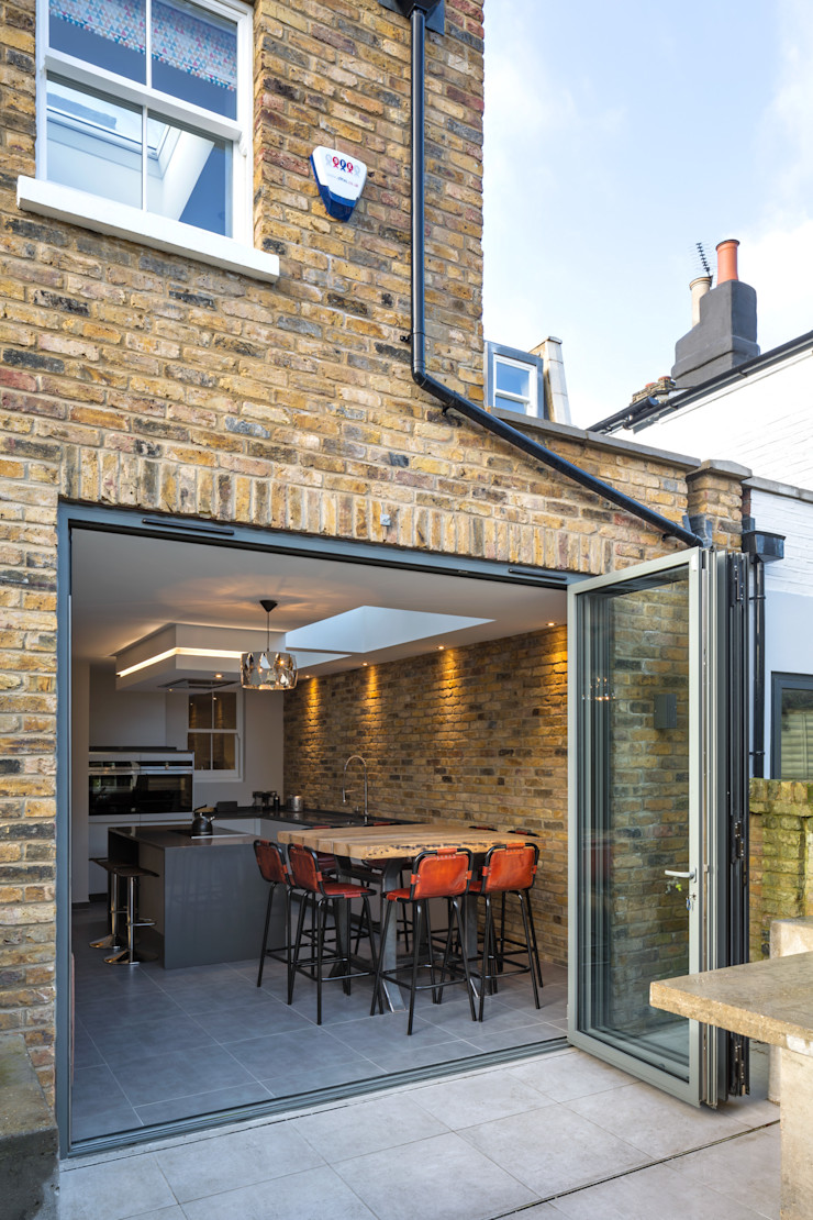 Nasmyth Street Frost Architects Ltd Rustic style house