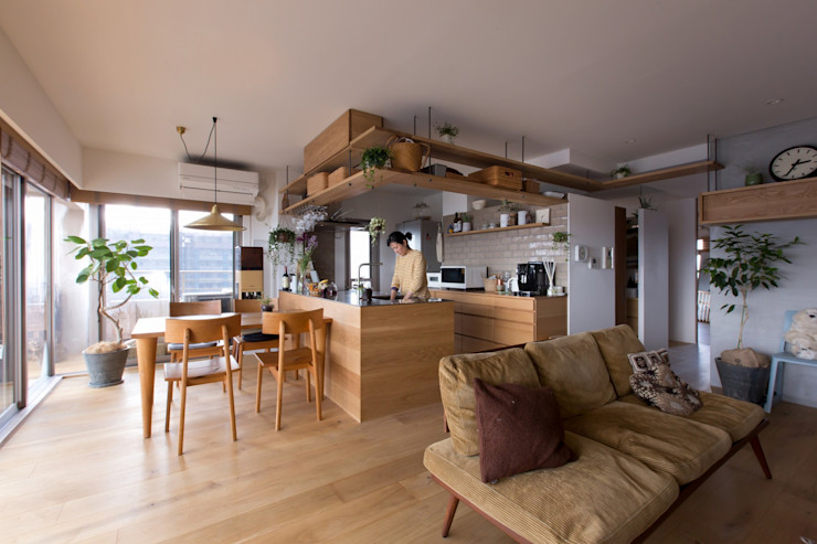 ALTS DESIGN OFFICE Кухня Дерево Дерев'яні
