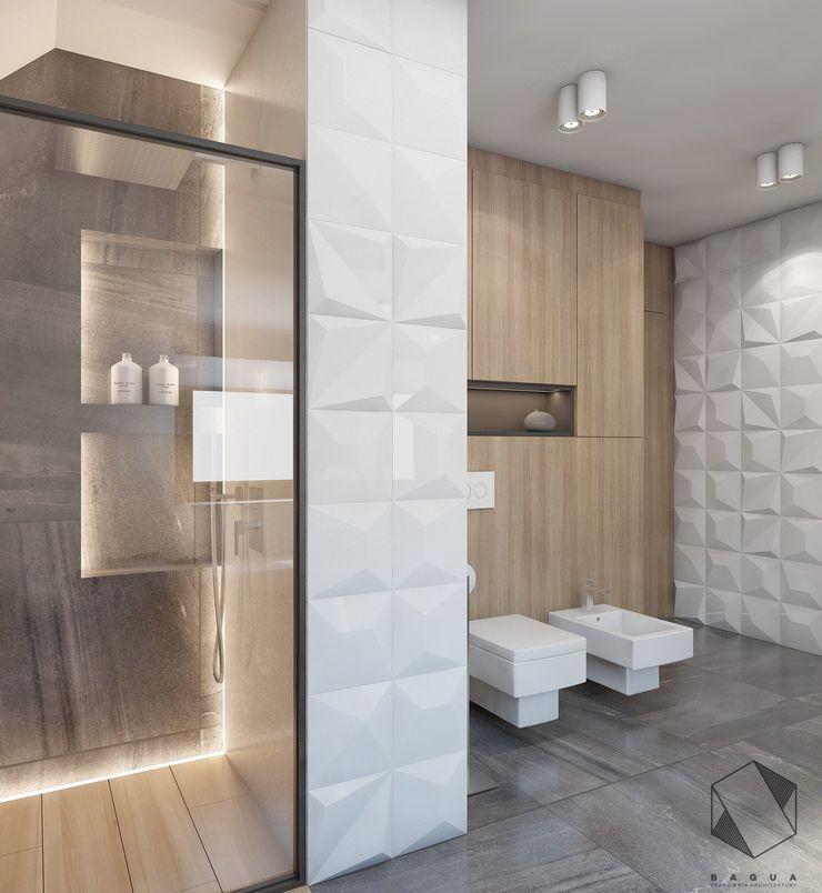 BAGUA Pracownia Architektury Wnętrz Baños modernos