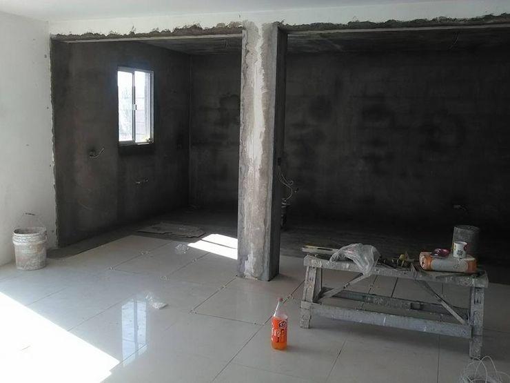 Ampliación Santa Fe CA ARQUITECTOS Casas mediterráneas Concreto Blanco