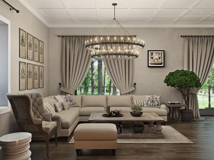 Wide Design Group Salas de estar clássicas