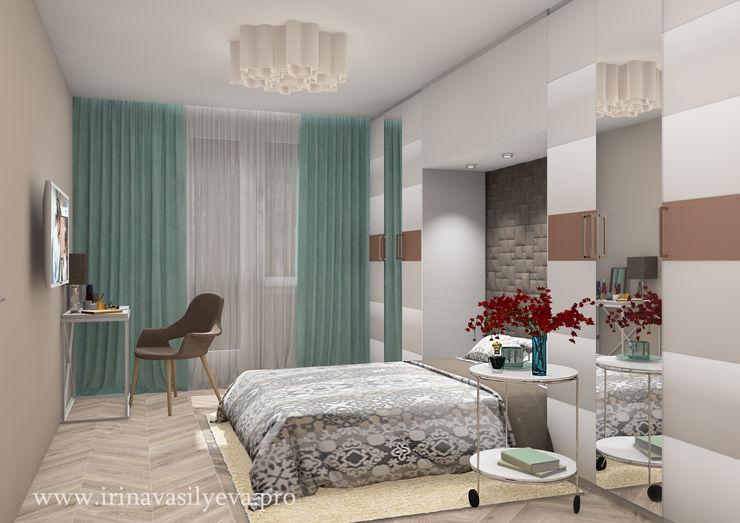 Irina Vasilyeva Eclectic style bedroom
