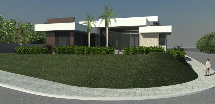 JCWK arquitetura (jancowski arquitetura) Rumah Modern