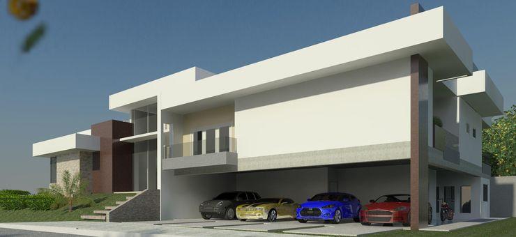 JCWK arquitetura (jancowski arquitetura) Garasi Modern