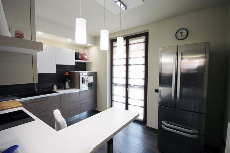 kitchen homify Cucina moderna Effetto legno
