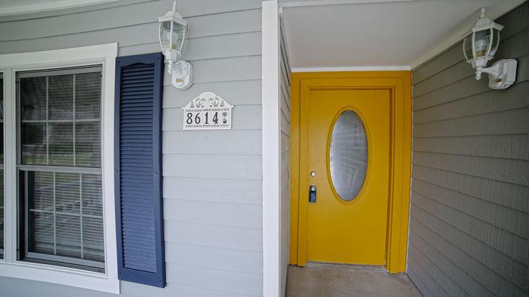Noelia Ünik Designs 乡村风格的走廊,走廊和楼梯