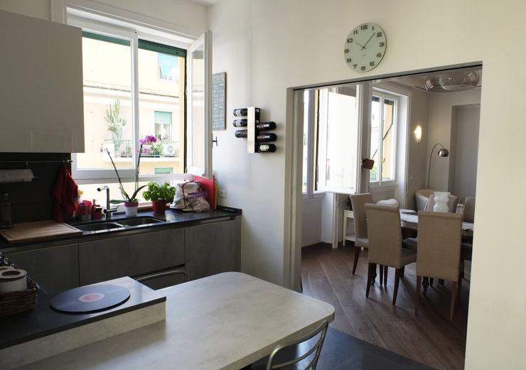 Casa PF Giulia Villani - Studio Guerra Cucina moderna